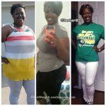 Shenitra lost 80 pounds