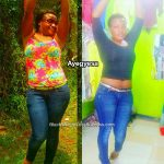 Ayegyesa lost 26 pounds