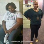 LaMia lost 103 pounds
