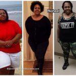 Richeel lost 92 pounds