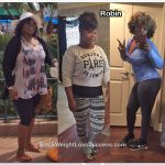 Robin lost 40 pounds