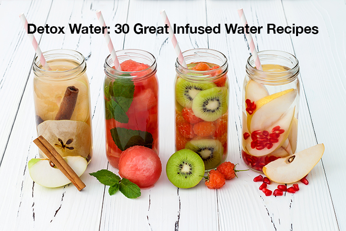Detox water recipes for weight-loss