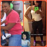 Yashica lost over 40 pounds