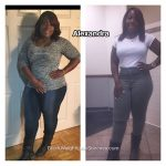 Alexandra lost 48 pounds