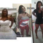 DeAnte lost 100 pounds