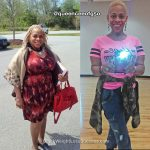 Cee lost 41 pounds