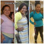 Davida lost more than 30 pounds