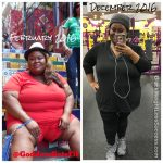 Gabrielle lost 65 pounds