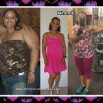 Miranda lost 123 pounds