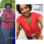Akosua lost 105 pounds