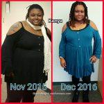 Kenya lost 78 pounds