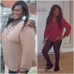 Loretha before and after