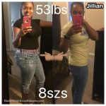 Jillian lost over 50 pounds