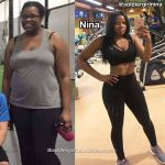 Nina lost 78 pounds