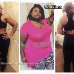 Shakima lost over 140 pounds