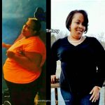 Tiffany lost 86 pounds
