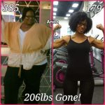 Anita lost 206 pounds