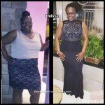 Delicia lost 103 pounds