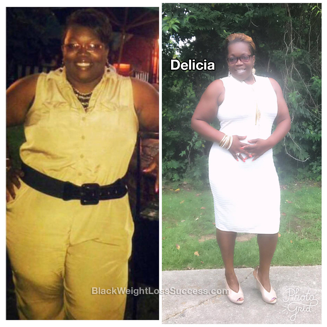 delicia before and after