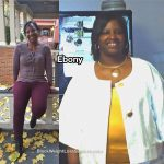 Ebony lost 116 pounds