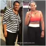 Lekeisha lost 109 pounds