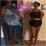 B'Neika lost 130 pounds