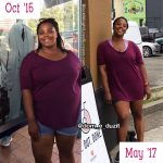 Dominique lost 47 pounds