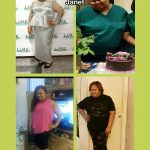 Janet lost 155 pounds