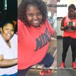 Tiffany lost 105 pounds