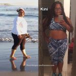 Kini lost 57 pounds