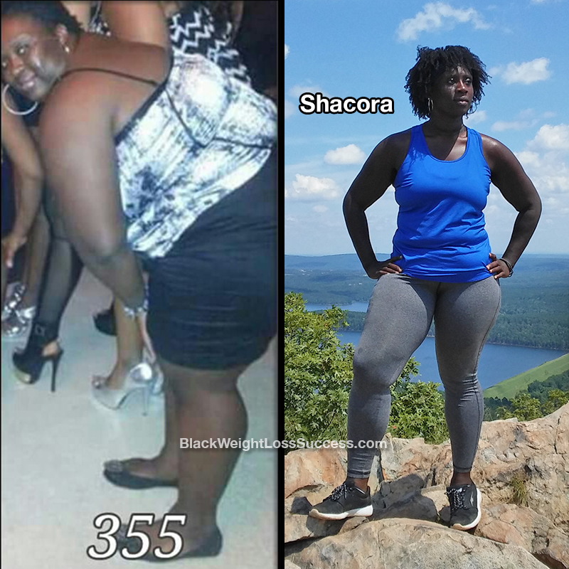 Shacora Lost 145 Pounds Black Weight Loss Success