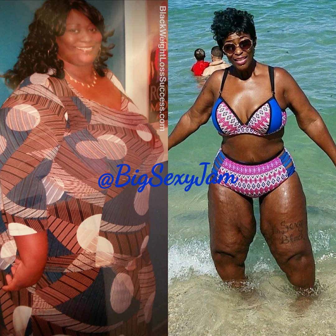 Jam lost 191 pounds | Black Weight Loss Success
