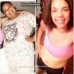 Morgan lost 75 pounds