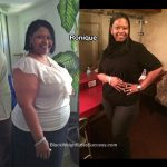 Ronique lost 150 pounds