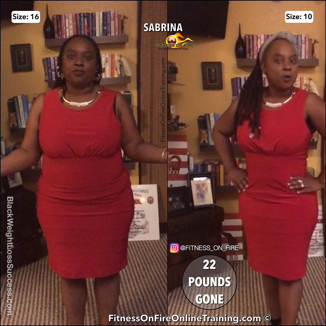 Sabrina Lost 22 Pounds And Three Dress Sizes Black