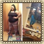 Sakeena lost 62 pounds