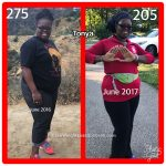Tonya lost more than 70 pounds