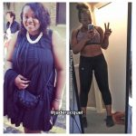 Jade lost 70 pounds