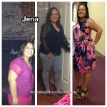 Jena lost 46 pounds