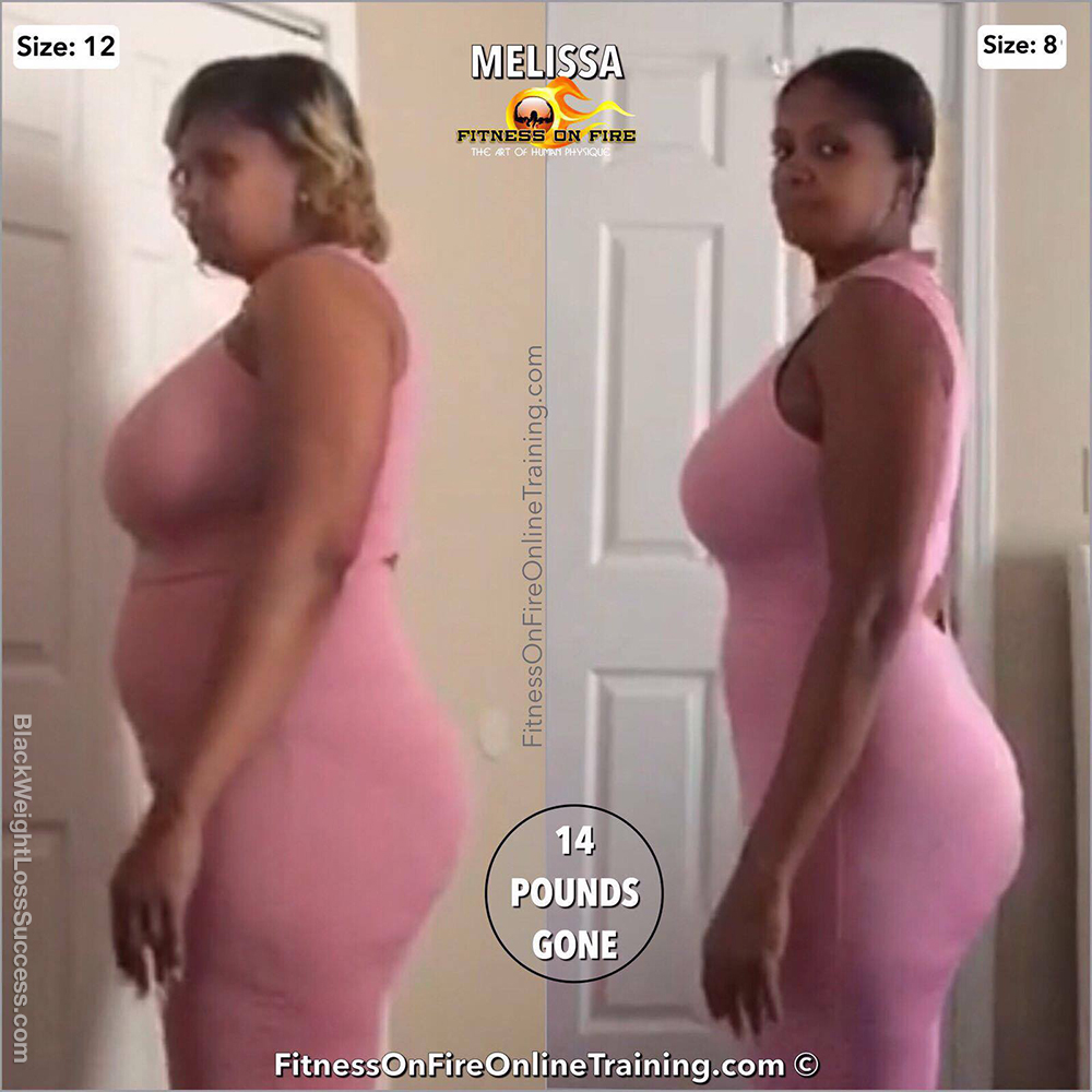 melissa before and after