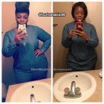 Shaneika lost 70 pounds
