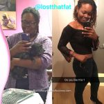 Tasha lost 76 pounds
