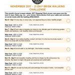 BWLW Nov Walking Challenge