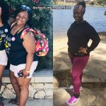 Demetria lost 60 pounds