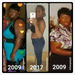 Dominique lost 63 pounds