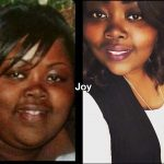 Joy lost 48 pounds