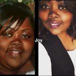 Joy lost 48 pounds