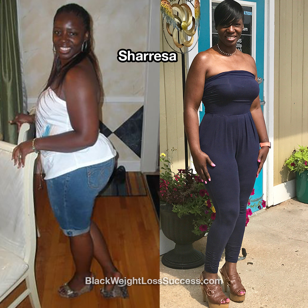 sharresa before and after