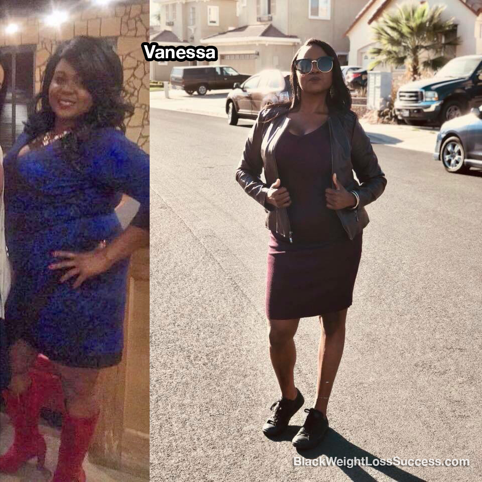 vanessa weight loss