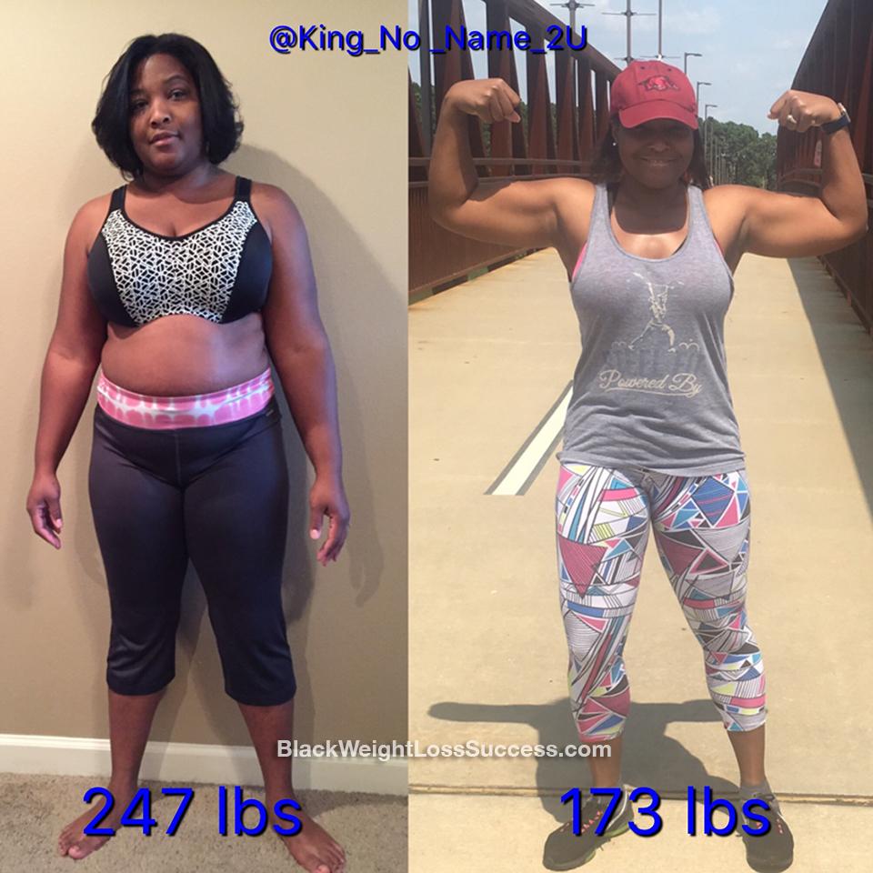 arteja weight loss story